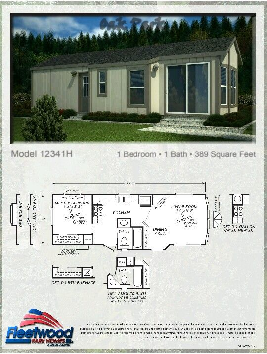 Park Model Home Park Model Homes Tiny House Design Mobile Home Floor Plans