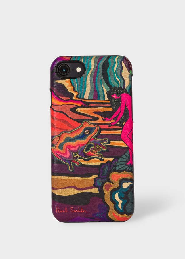 best service f6b1b d75f3 Paul Smith 'Dreamer' Print Leather iPhone 6/6S/7/8 Case | Products ...