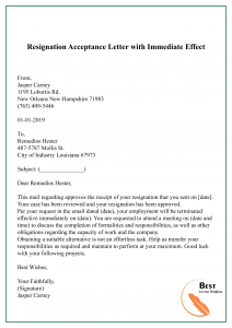 Sample Acceptance Of Resignation Letter From Employer from i.pinimg.com