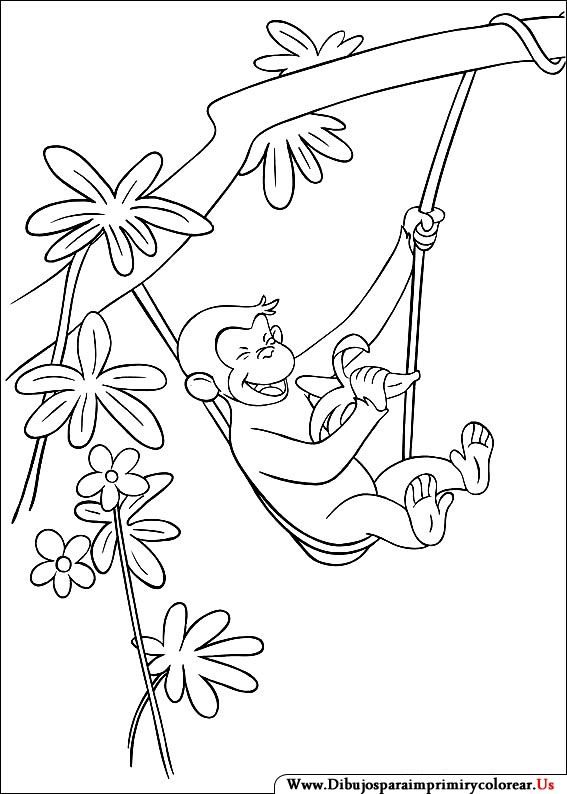 find this pin and more on jorge el curioso curious george 08 coloring page