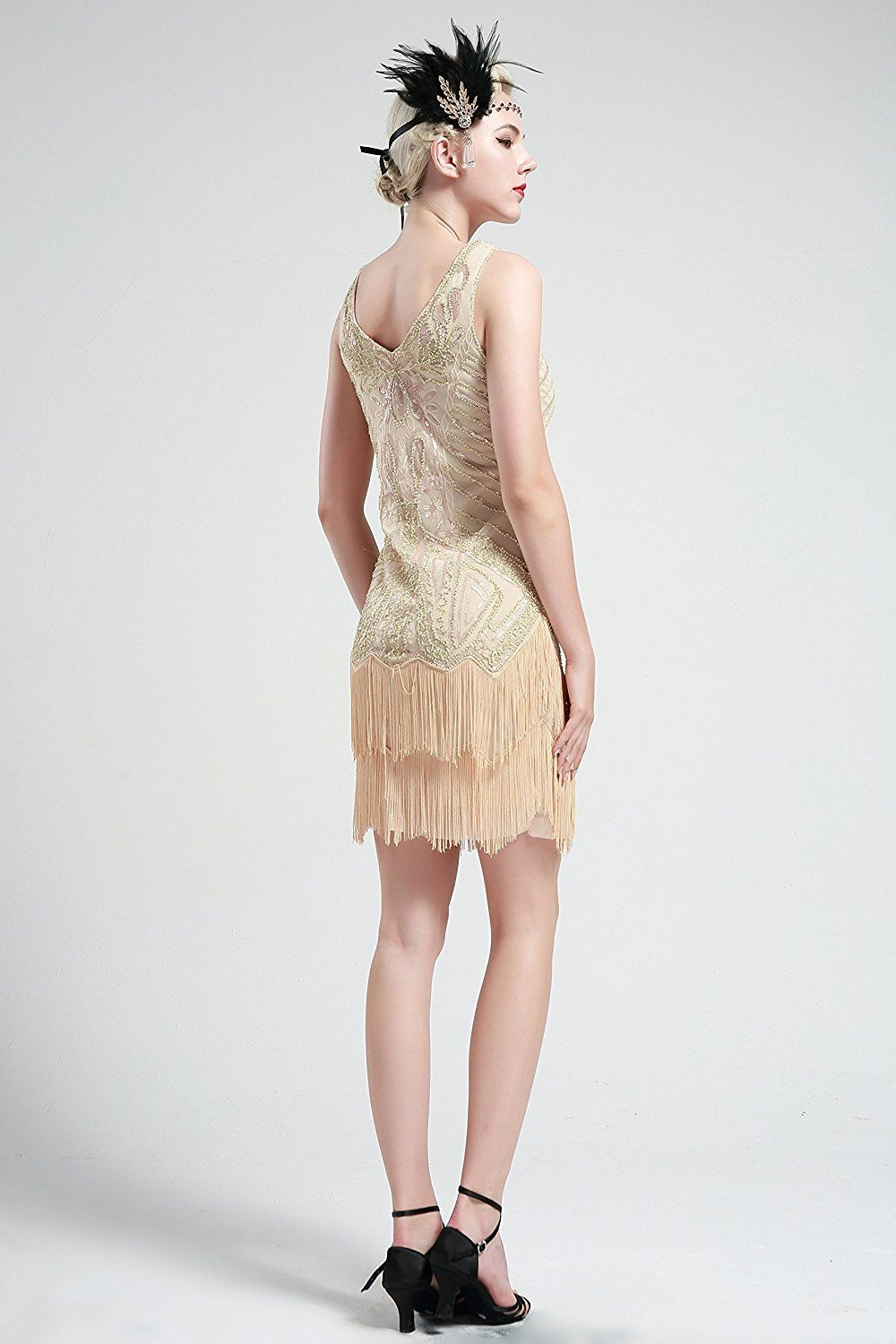 Vintage short dress gatsby cocktail products pinterest dresses