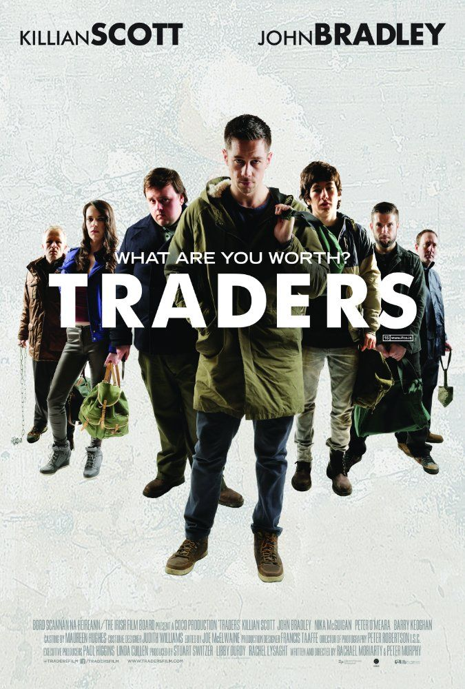Traders (2015) Directed by Rachael Moriarty, Peter Murphy.  With Killian Scott, John Bradley, Peter O'Meara, Nika McGuigan. What if it made perfect sense for ordinary people to kill each other for money? Better than slow grinding financial ruin and misery, and all done according to a strict code by consenting adults. This is Trading.