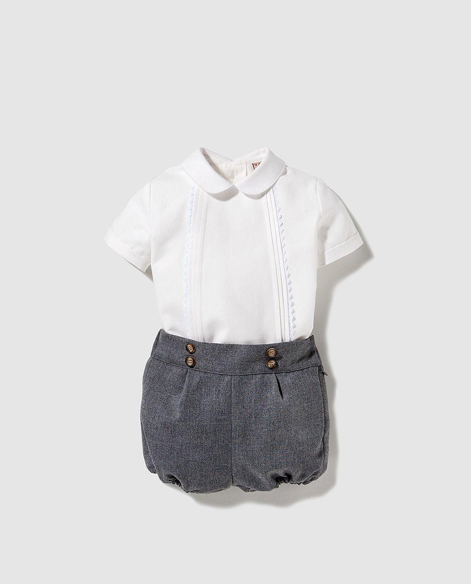 Conjunto de bebé niño Tizzas dos piezas   Vestits xiquets