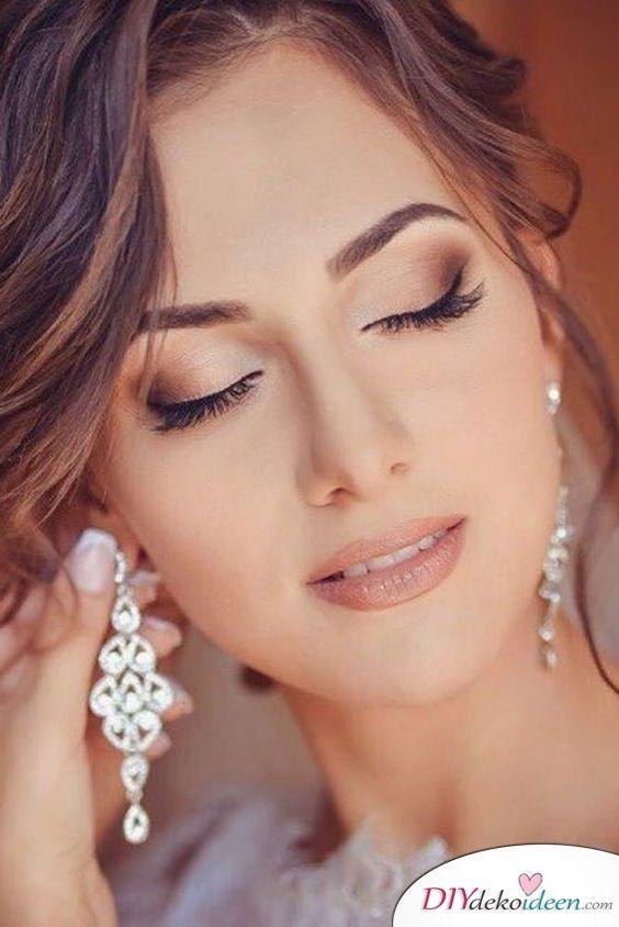 40 Traumhafte Hochzeits Make Up Ideen Fur Eure Hochzeit Braut Make Up Blonde Haare Make Up Make Up Braut Makeup Hochzeit