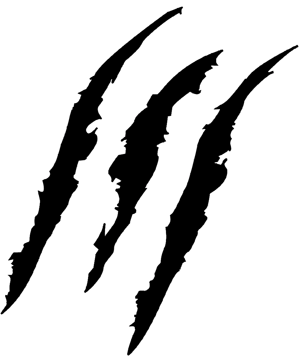 Shred Claw Clipart Cliparthut Free Clipart Xtavjk Clipart Png 971 1155 Tiger Logo Silhouette Clip Art Clip Art