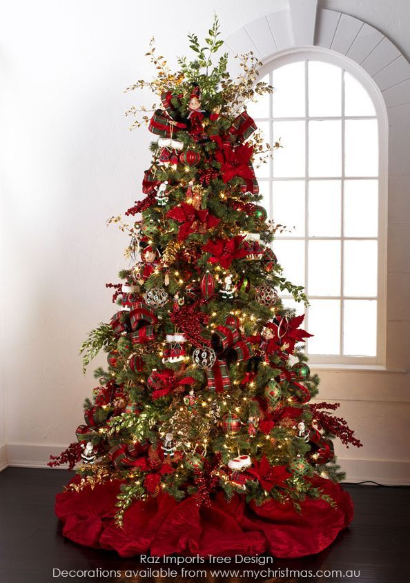 Tendencias para decorar tu arbol de navidad 2016 2017 44 - Decoracion arboles navidenos ...