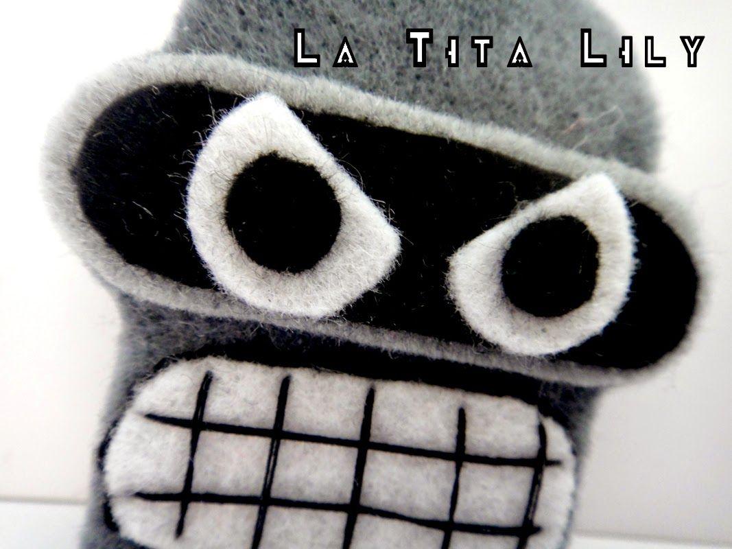RETO DE IREGUMY CREACIONES MES DE OCTUBRE: ROBOTS!
