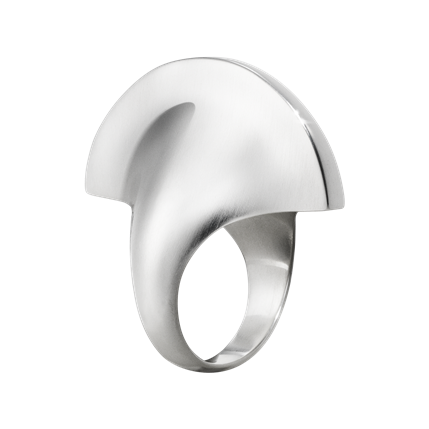 ARCHIVE COLLECTION sterling silver ring by Danish designer Georg Jensen.