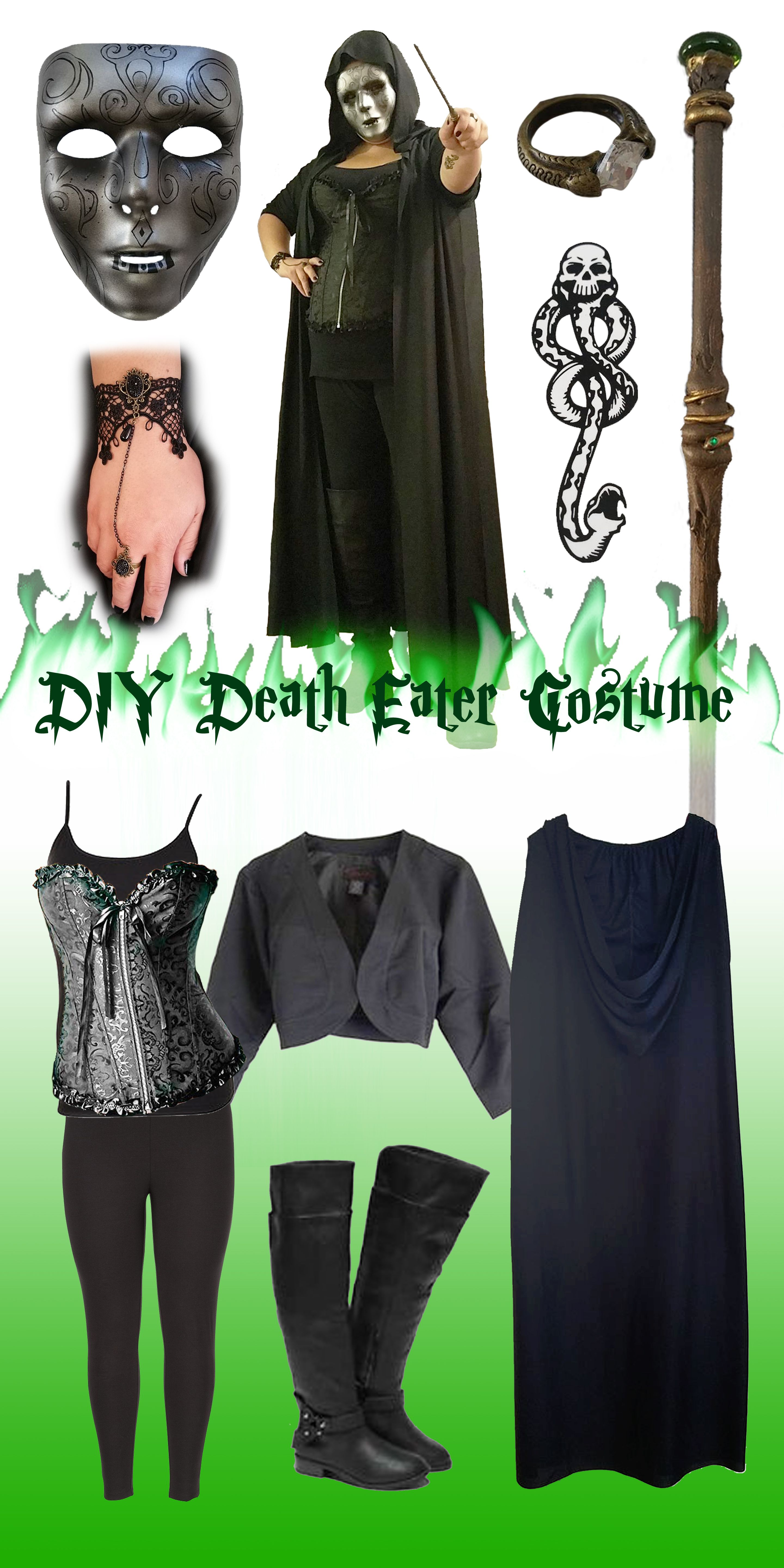 How to Make Harry Potter Costumes | Voldemort, Costumes and Harry ...