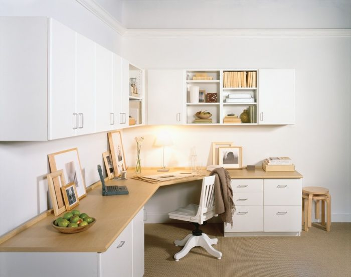California Closets Corner Office Home Office Layouts Home