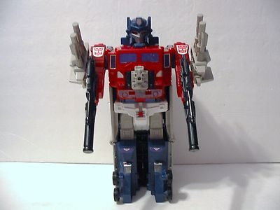 Vtg 1985 Hasbro G1 Transformers POWERMASTER OPTIMUS PRIME Complete Autobot Cmdr