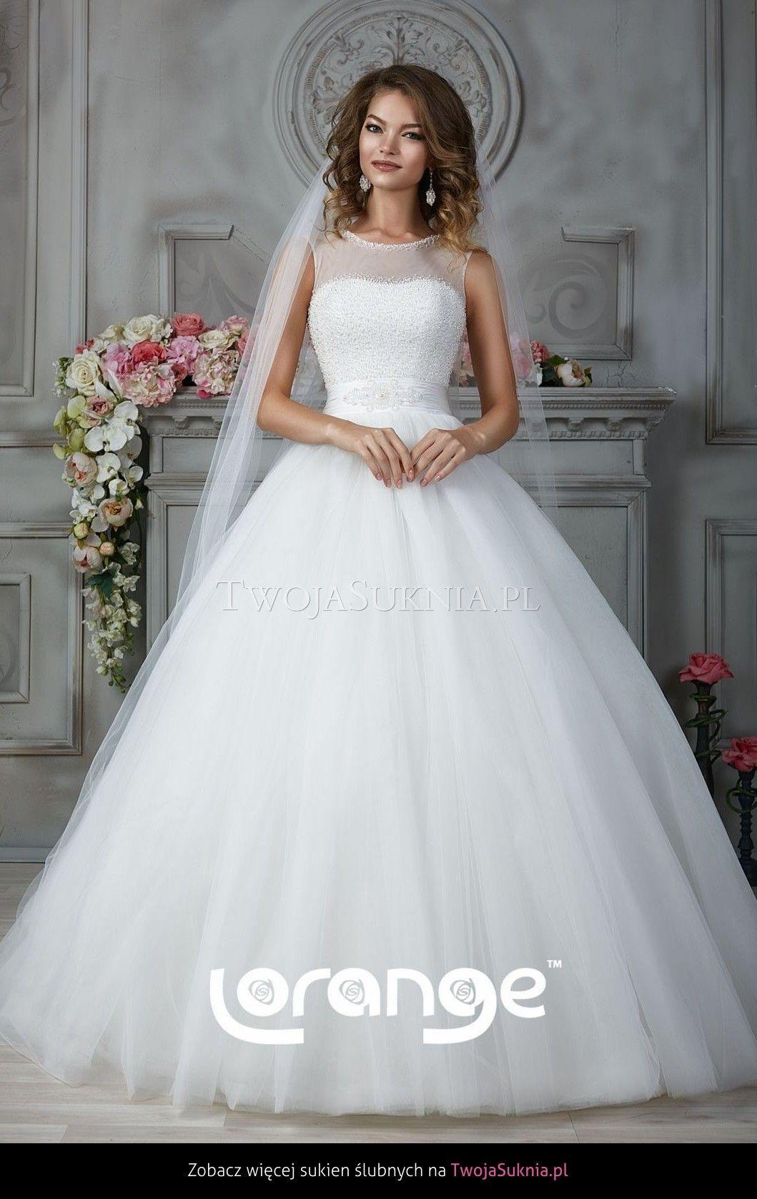 cf4d1a1522 Suknia ślubna Lorange Evita Grace Twojasukniapl Suknie ślubne