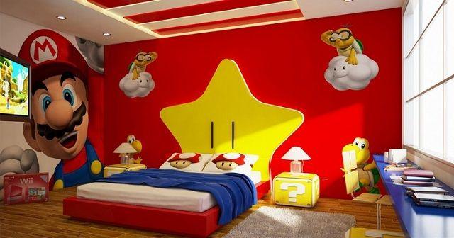 Dormitorios infantiles de mario bros shelf pinterest - Dormitorios infantiles tematicos ...