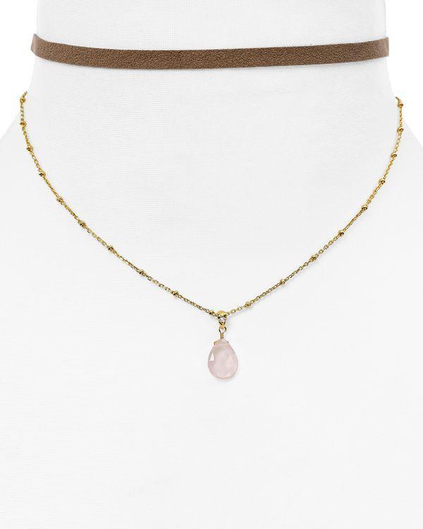 """Nadri Layered Choker Necklace, 11"""""""