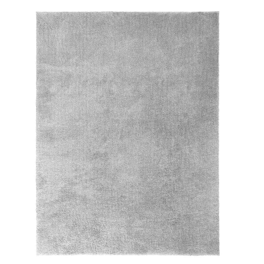Home Decorators Collection Ethereal Shag Grey 7 Ft X 10 Ft Indoor Area Rug 447120 The Home Depot Grey Area Rug Area Rugs 8x10 Area Rugs