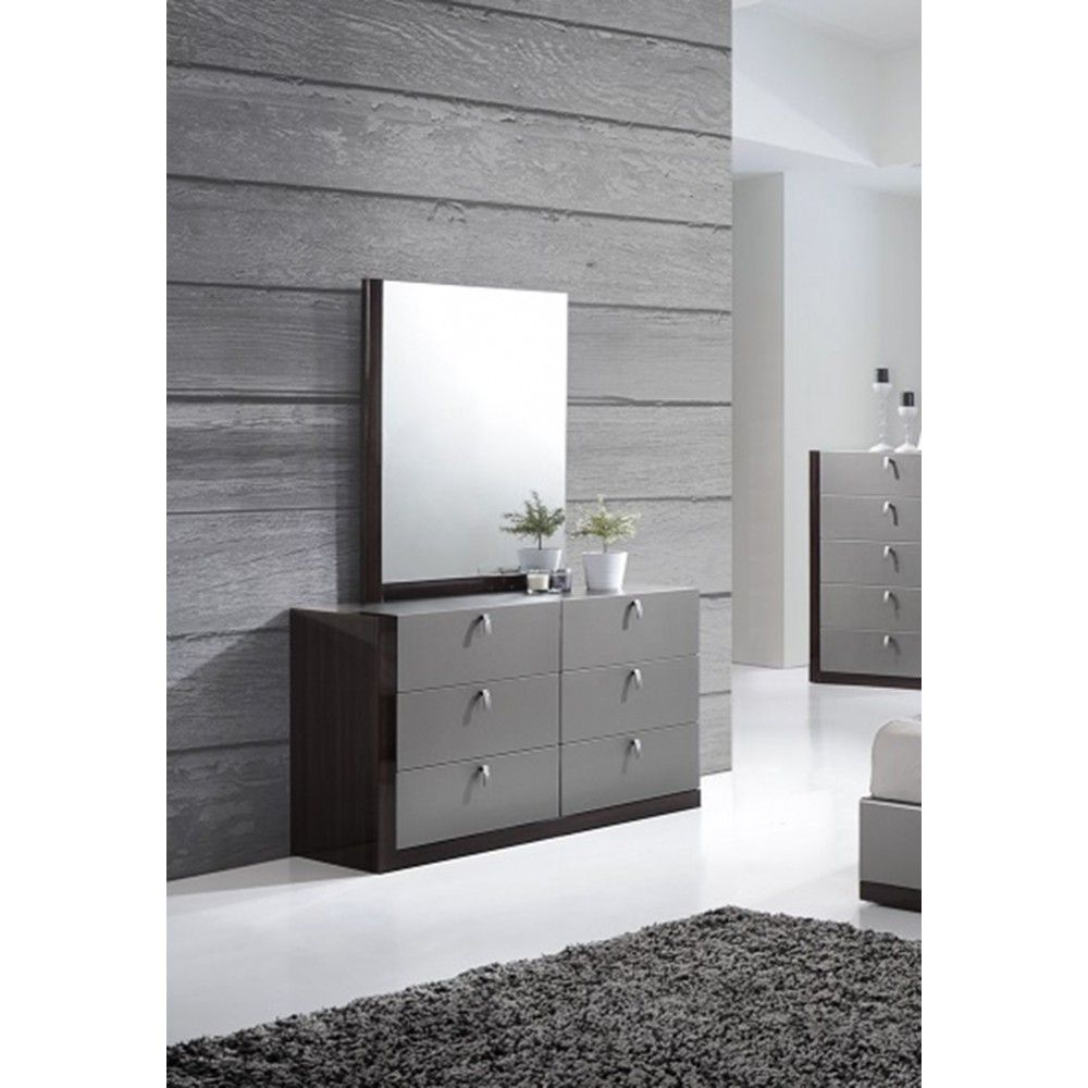 with dresser product mid mirror century modern