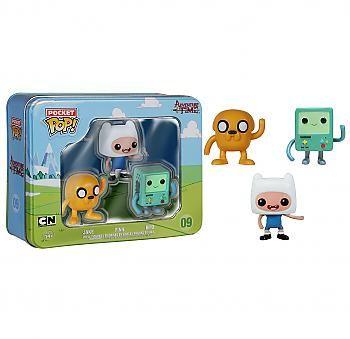 Adventure Time Pocket Pop Vinyl Figure Jake Finn Bmo Display Of 3 Mini Funko Pop Vinyl Figures Adventure Time