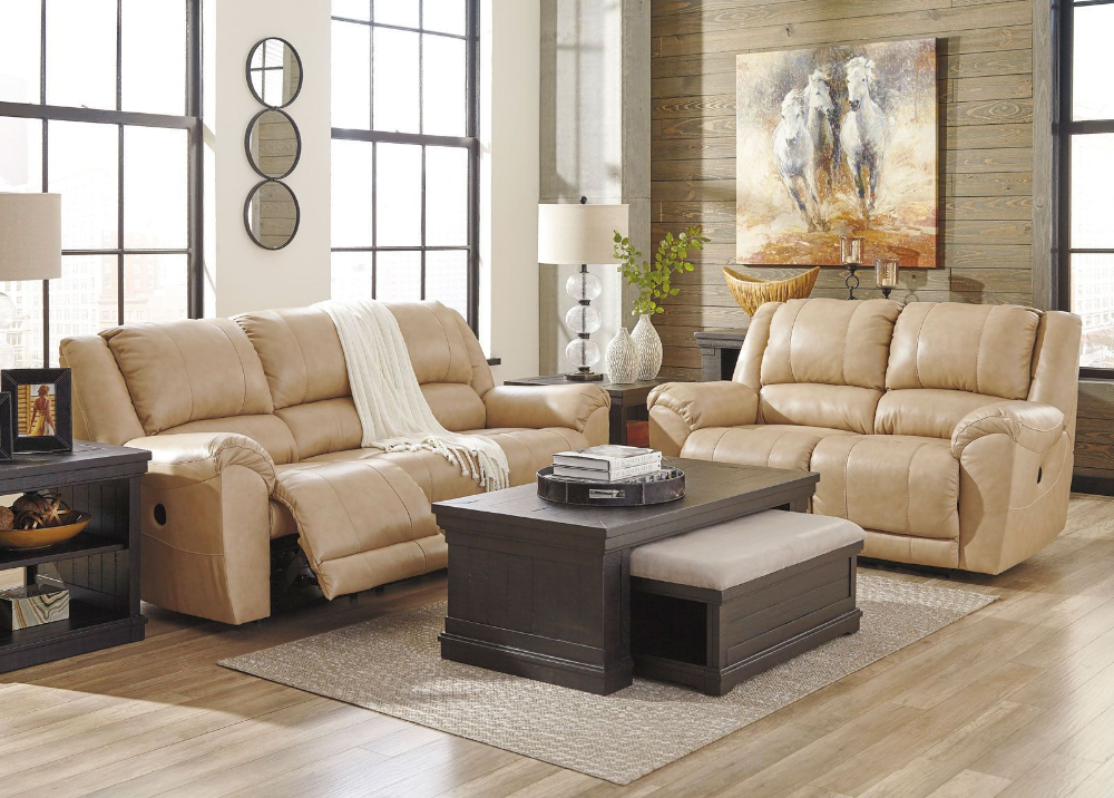 Planet Real Beige Leather Motion Reclining Sofa Couch Set Living Room Furniture Eb Couches Living Room Apartment Leather Sofa Living Room Living Room Leather