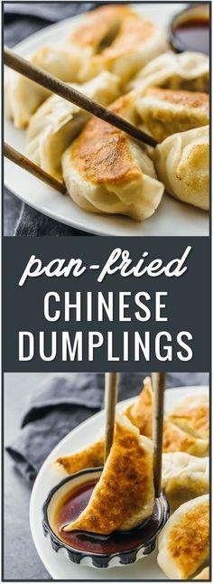 Photo of Pan-Fried Chinese Dumplings – Savory Tooth