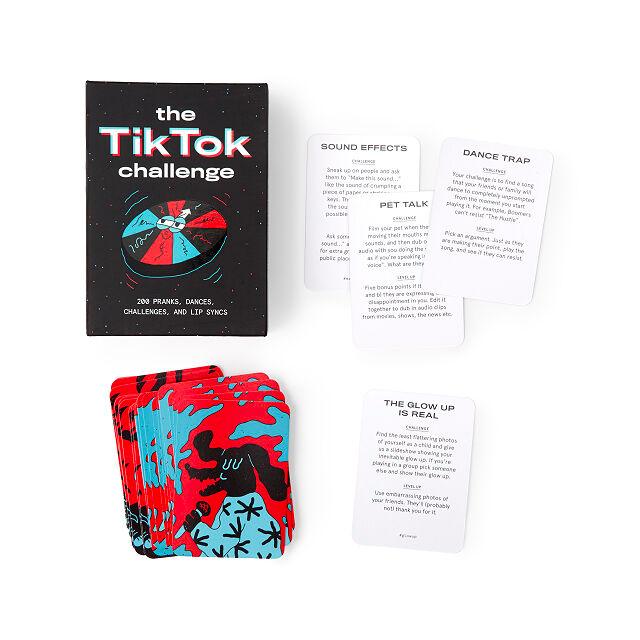 Tiktok Challenge Game Tiktok Game Uncommon Goods Challenge Games Birthday Party Games For Kids Challenges