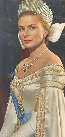 """Ingrid Bergman in """"Anastasia""""  (1956)  Best Actress Oscar 1956                                                                                                                                                                                 More"""