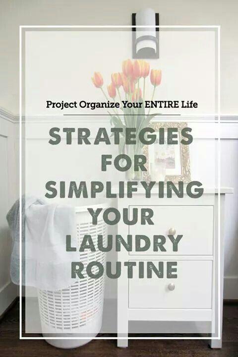 Estrategias para simplificar tu rutina de lavado de ropa :)