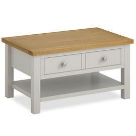 Tesco Direct Farrow Painted Coffee Table Matt Stone Grey