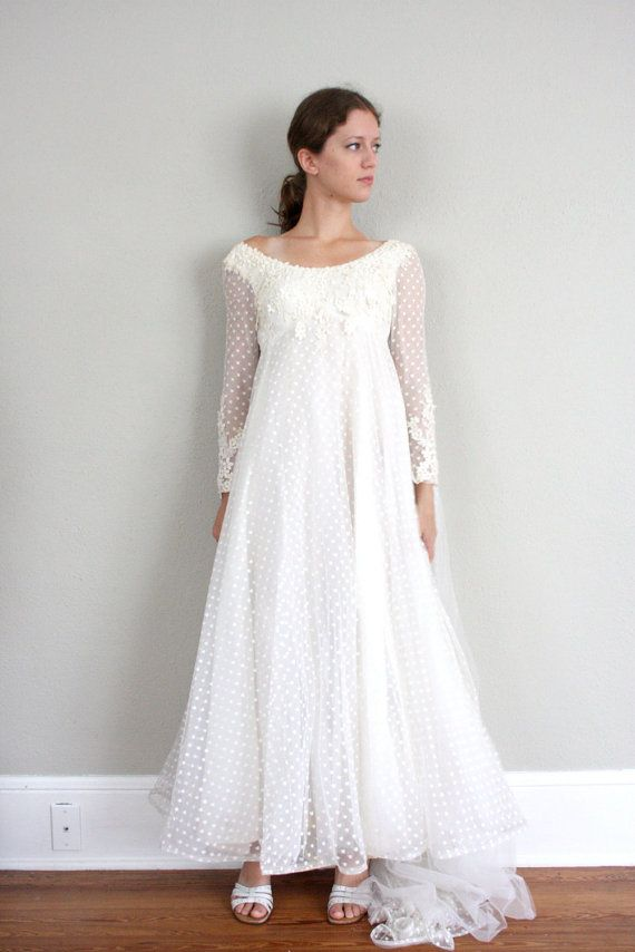 Pin By Amanda Richards On Someday Maybe Polka Dot Wedding Dress Dresses Pretty White Dresses