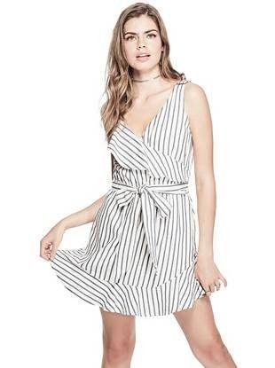 f2472869e21 Gianna Striped Ruffle Dress