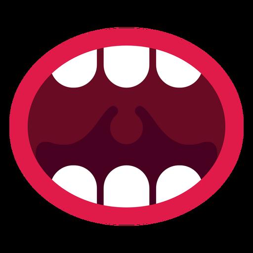 Open Mouth Icon Ad Sponsored Sponsored Icon Mouth Open Notan Art Icon Animal Teeth