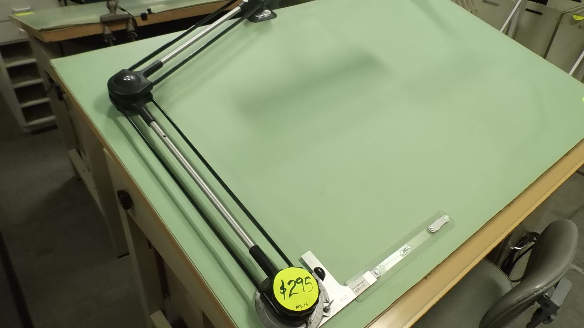 A Used Vemco Mark XII V Track Drafting Machine. Description Fromu2026