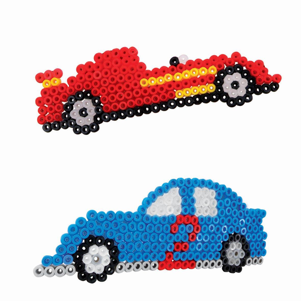 SES Iron on beads Cars #irononbeads #car #strijkkralen   SES Iron-on ...