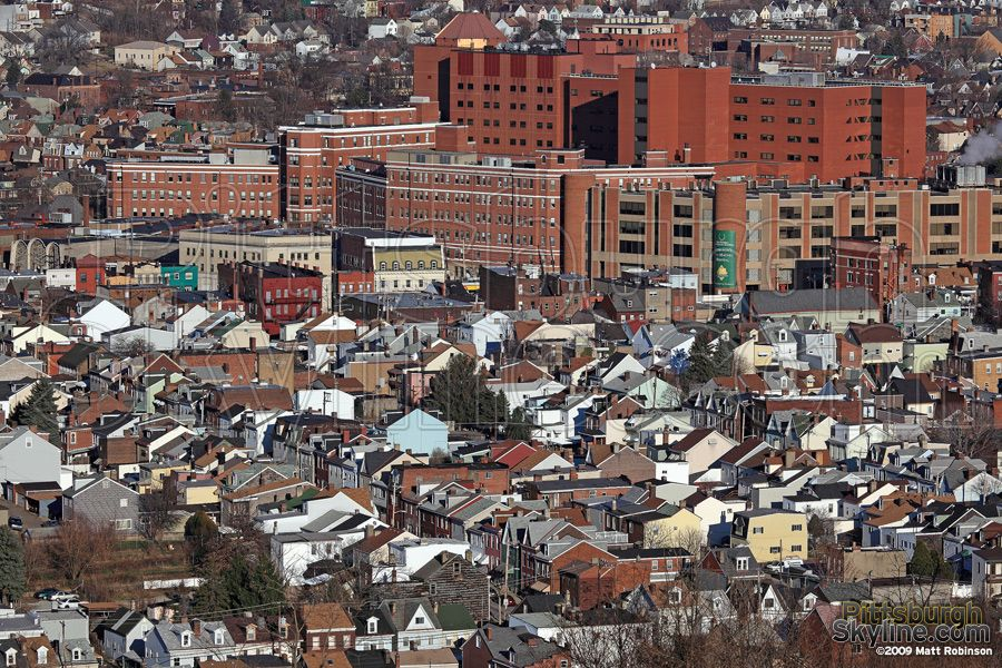 West Penn Hospital and Bloomfield