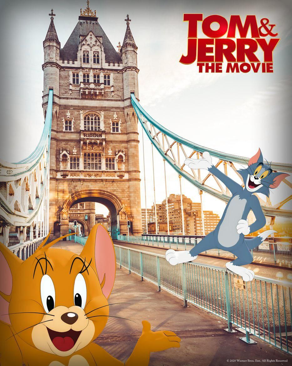 First Poster for Tom & Jerry: The Movie