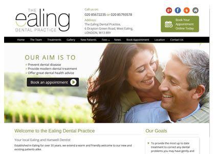 dentist web marketing