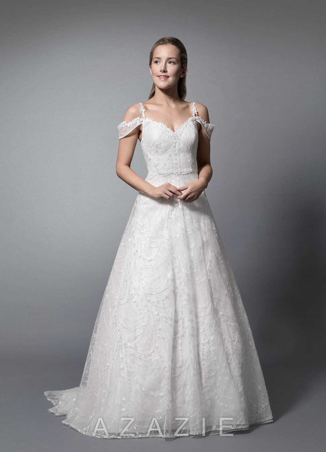 aa110ae927 Azazie Kyrene BG Wedding Dress