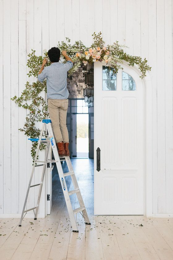 21 diy flower arch ideas