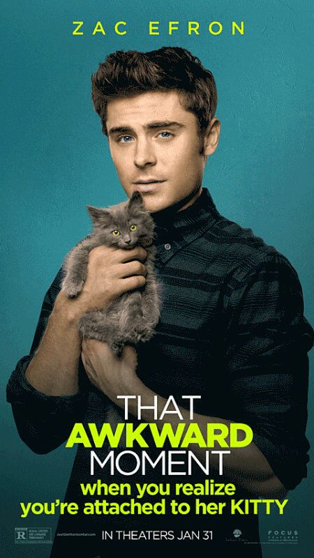 Zac Efron, 'That Awkward Moment' Motion Poster #5 | Movies ...