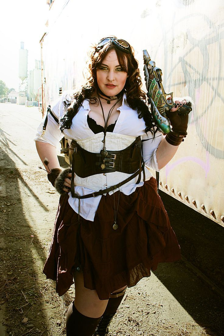 Punk outfits for chubby girls