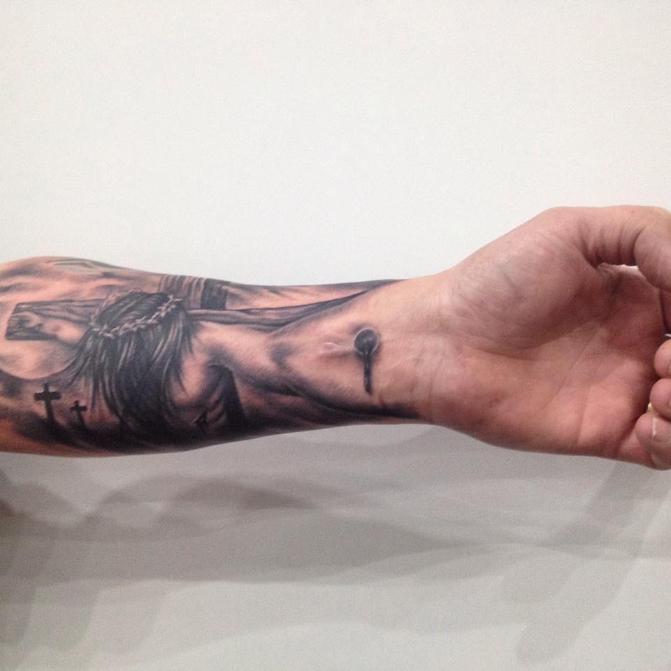 crucifixion tattoo religious tattoo tats pinterest religious tattoos tattoos and php. Black Bedroom Furniture Sets. Home Design Ideas