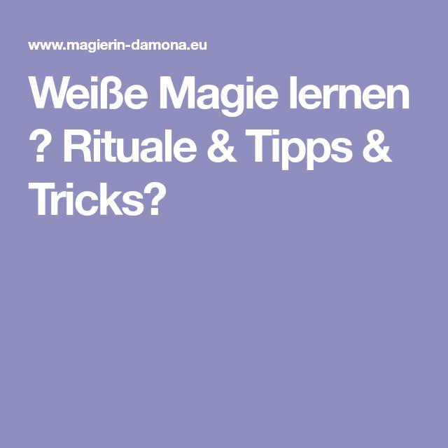 Magie Tricks Lernen