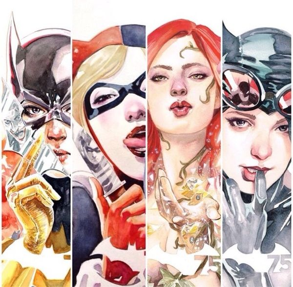 Those who wander are not lost Photo Arte dc comics