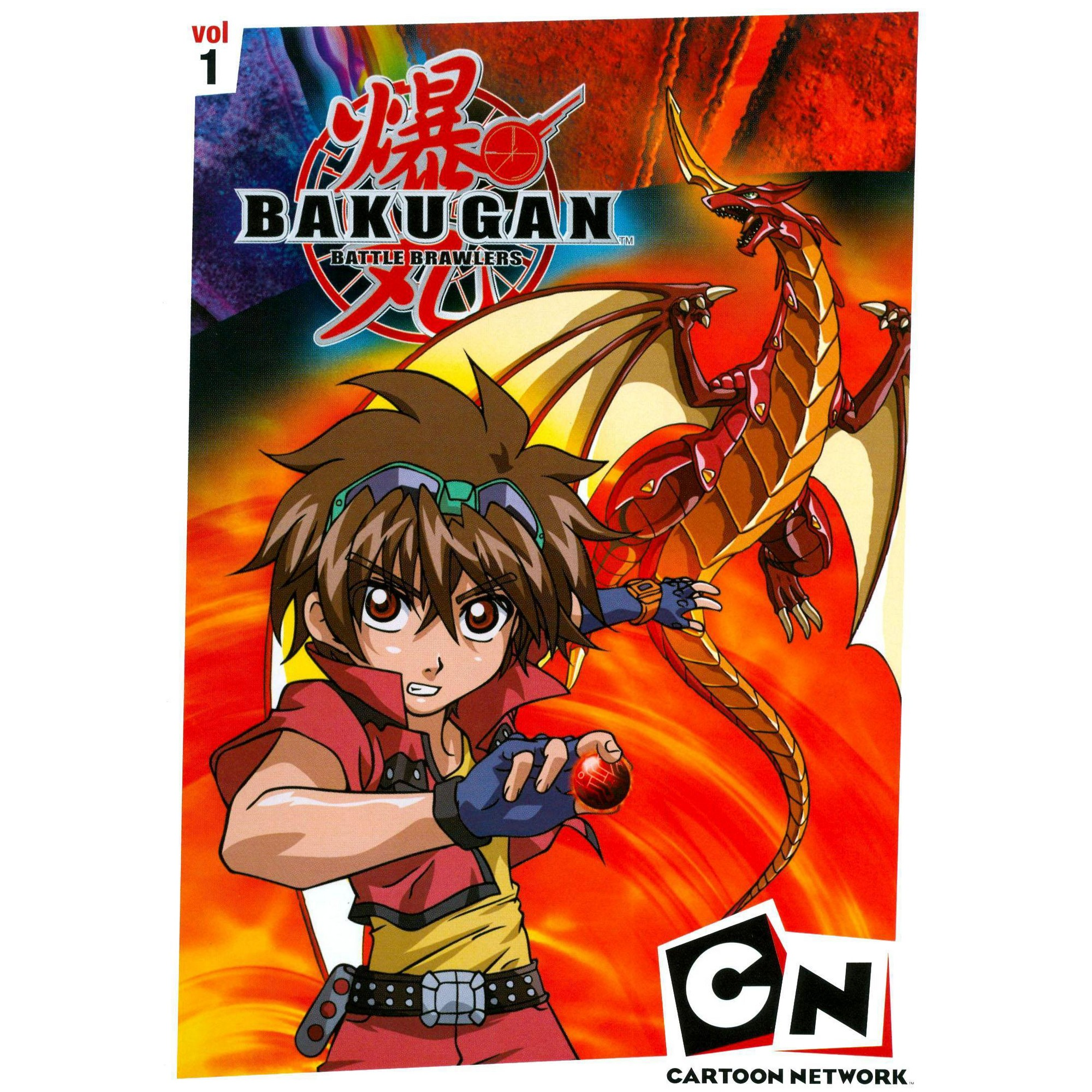 Bakugan Vol 1 Battle Brawlers Dvd Video Bakugan Battle