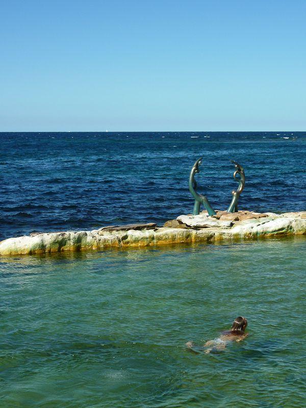 Ocean Baths near Shelly beach/Sydney