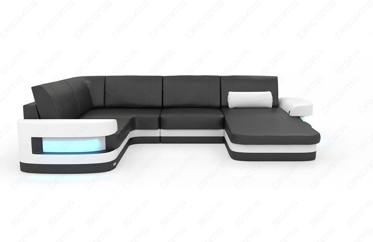 Modern Leather Sofa Tampa U Shape | Sofas / Sectionals | Modern ...