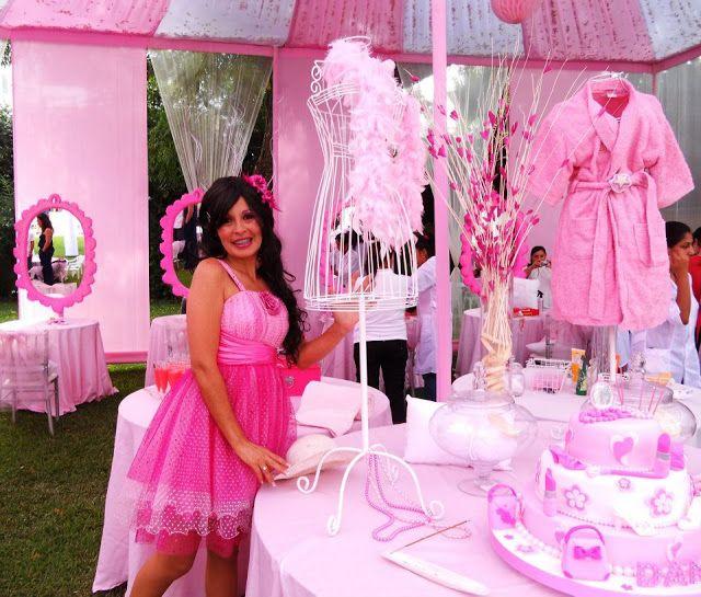 Fiesta infantil solo para ni as con salon de belleza y spa for Administrar un salon de belleza