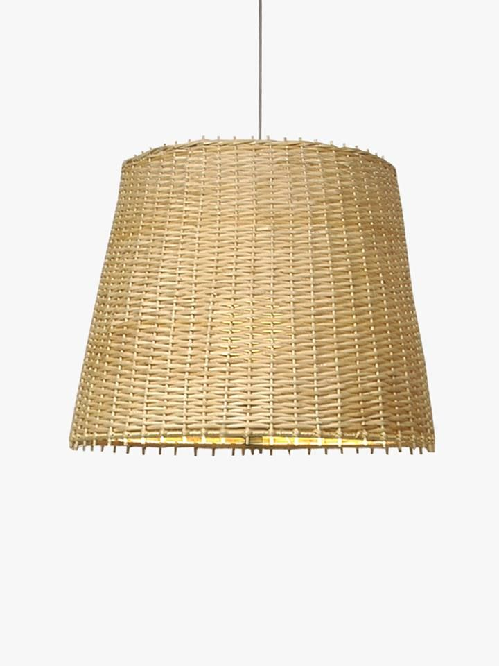 Lampara Colgante De Mimbre Lamp Shade Ceiling Lights Lamp
