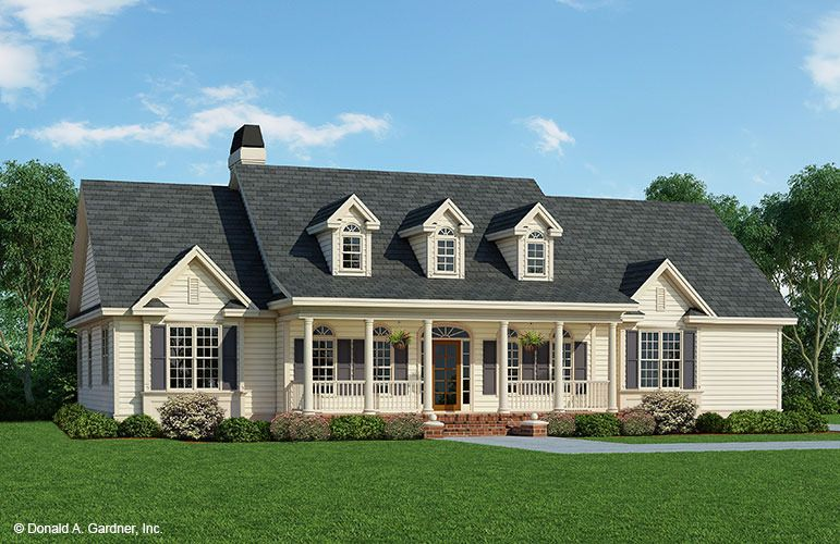 Home Plan The Hepplewhite By Donald A Gardner Architects Country House PlansCountry