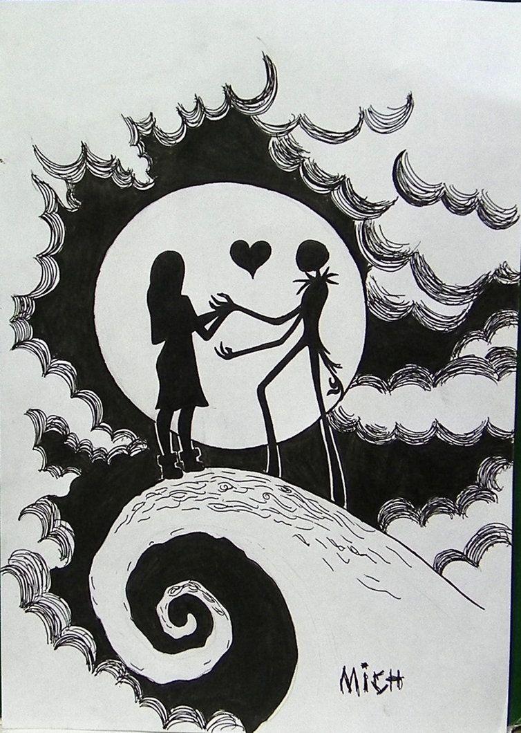 Drawings Of Jack Skellington Sewing Com Imagens