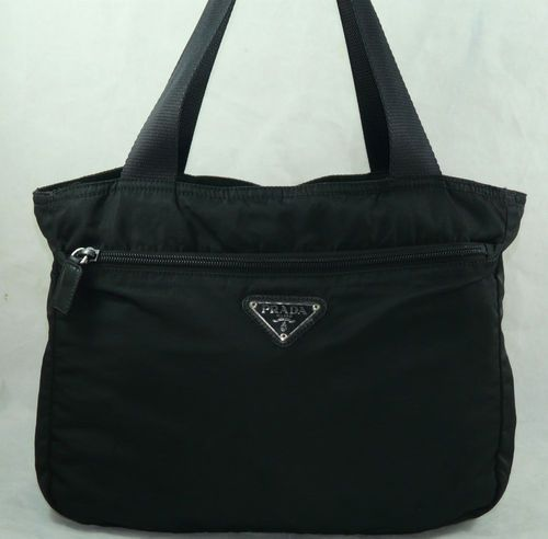 Authentic Prada Nylon Tote Satchel Purse Handbag Shoulder Bag | eBay  Price:US $175.99